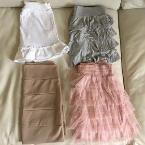 Girly Skirt Bundle - Four Mini skirts